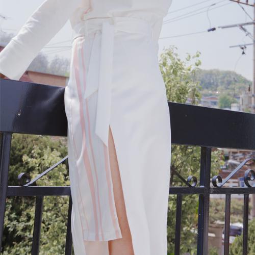 [블레어바이스퀘어] [blair by square] Layered Long Skirt (2 Color)